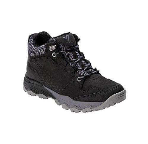Mid Everett Shoes Black Top Vionic Women's Hiking 8Zx7q4HwH