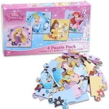 Disney Princess - Four (4) Puzzle ()