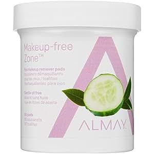 Amazon.com : Almay Oil-free Eye Makeup Remover Pads, 80