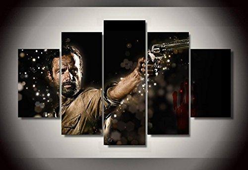 Amazon The Walking Dead Print Canvas Decoration 5 Pieces