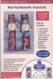 Sudberry House Red Hat/Butterfly Watch Kit -