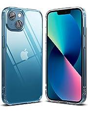 Ringke Fusion Compatibel met iPhone 13 Mini Case, Transparant Schokbestendig Bumper Hoesje - Clear