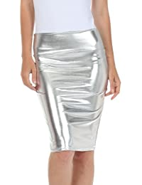 Amazon.com: Silver - Skirts / Clothing: Clothing, Shoes & Jewelry