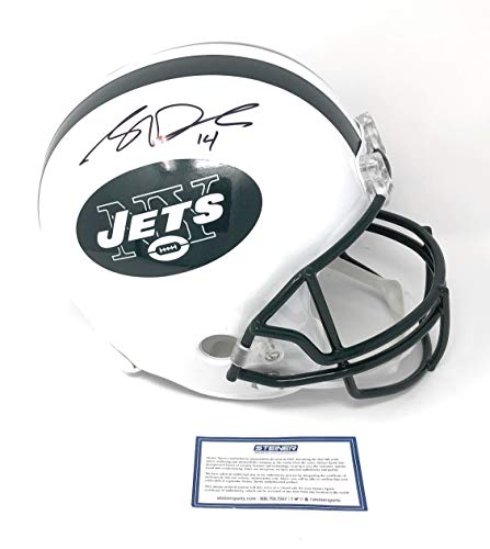Sam Darnold New York Jets Signed Autograph Full Size Helmet 14 Steiner Sports Certified