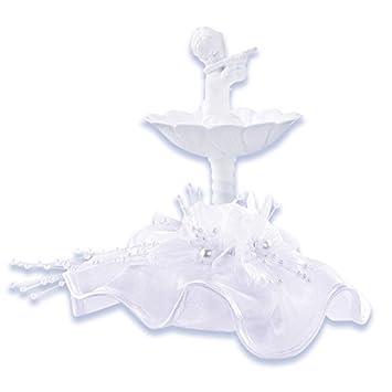 Tortendeko Hochzeit Engel Im Brunnen Cake Company Amazon Com