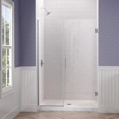 Frameless Hinged Shower Door - 8