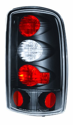 Bermuda Yukon Gmc (IPCW CWT-CE304CB Crystal Eyes Bermuda Black Barn Doors and Lift Gate Tail Lamp - Pair)
