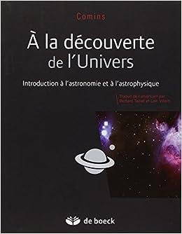 A la découverte de l'Univers - Les bases de l'astronomie et de l'astrophysique