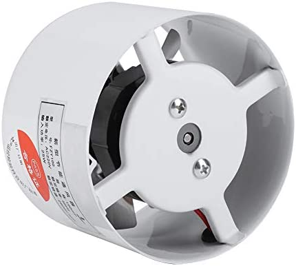 Ventilador de ventilación para pared con bajo nivel de ruido, para el hogar, baño, cocina, garaje, ventilación, 25 W ...