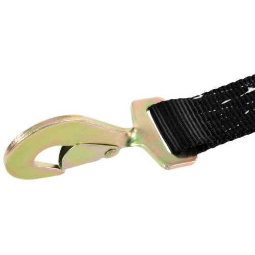 US Cargo Control 2'' X 12' Auto Tie Down (Single) - with Ratchet Strap and Twisted Snap Hooks by US Cargo Control (Image #4)