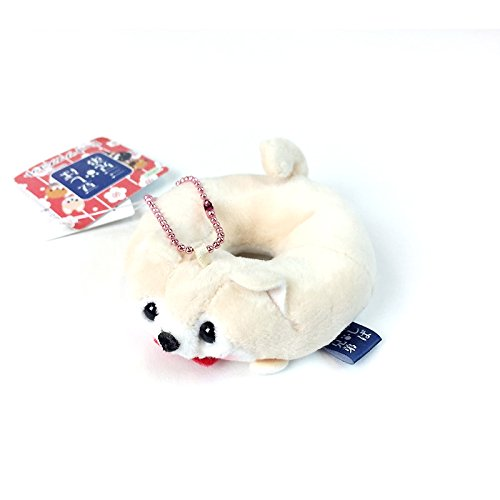 - AMUSE Mameshiba San Kyodai Dog Donut Plush Mini Strap Collection 1pc (Sasuke)