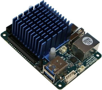 ODROID XU4Q with Passive Heathsink and Power Supply (Single Board Computer Linux)