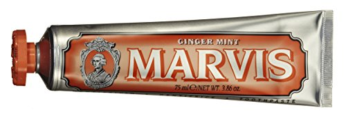 Gingermint Toothpaste - Marvis Ginger Mint Toothpaste, 3.8 oz