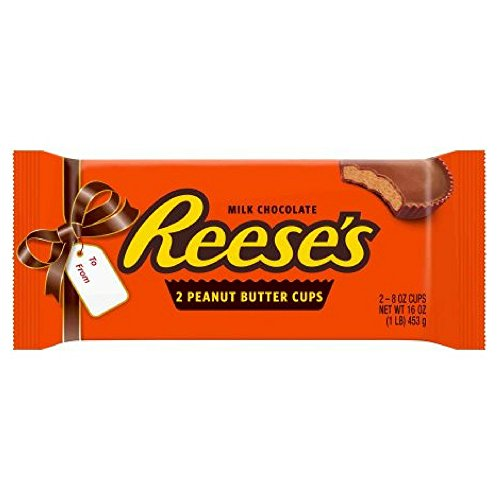 REESE'S Holiday Peanut Butter Cups, 1 lb (Pack of 2)