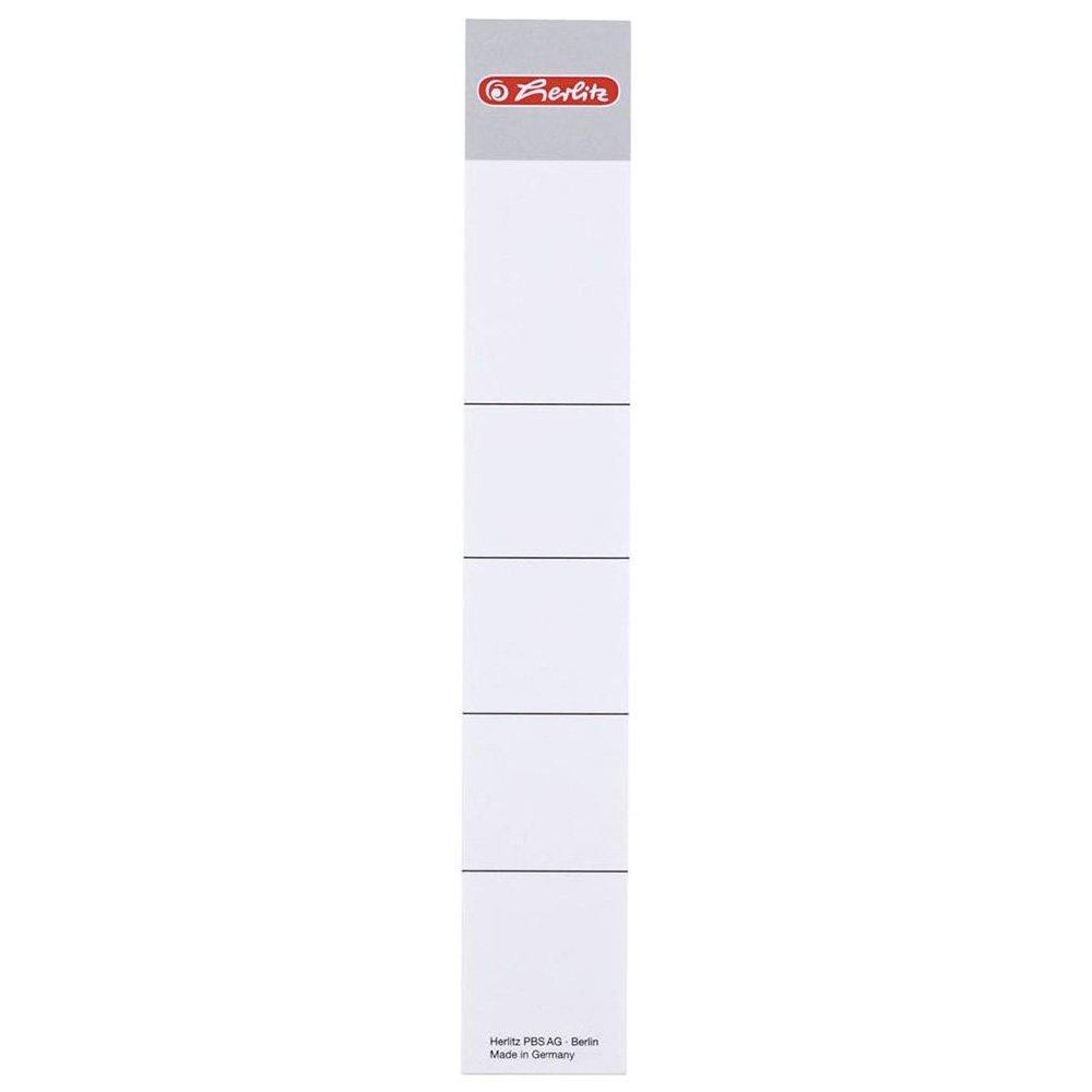 8 cm Herlitz di etichette adesive confezione da 10 pezzi
