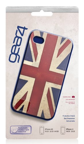 Gear 4 G4IC492 Gear4 Case für Apple iPhone 4/4S (Union Jack Design)