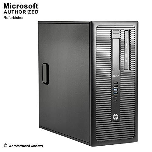 2019 HP ProDesk PC,Intel Core i5 4590 Upto 3.7G, 16G DDR3, 512G SSD, 2T, VGA, DP, BT 4.0, WiFi, DVD, W10 64-bit Multi-Language (CI5)(Certified Refurbished) (Best Desktop Computer 2019 Usa)