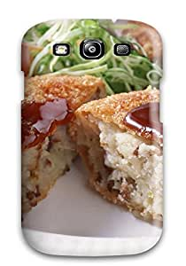 CharlesRaymondBaylor Snap On Hard Case Cover Meat Protector For Galaxy S3