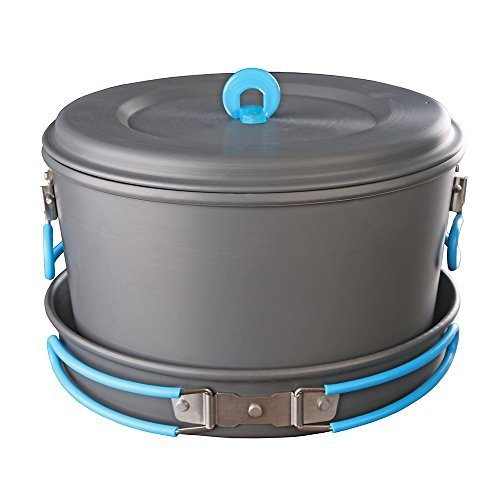 Stansport Family Hard-Anodized Aluminum Cook Set by Stansport ()
