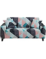 HOTNIU Stretch Couch Covers - Pattern Sofa Slipcovers - Fitted Loveseat Cover - Sofa Cover Seat Furniture Protector