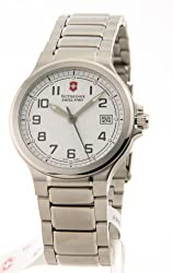 Victorinox Swiss Army Peak II Small White Dial Stainless Steel Women's Watch