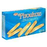 De Beukelaer Pirouluxe Belgian Rolled Cookies, 4.4 Ounce Boxes (Pack of 6)