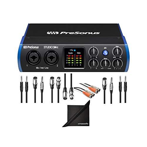- PreSonus Studio 26c 2x4 USB Type-C Audio/MIDI Interface