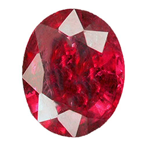 1.25 Ct. Natural Ruby from Madagascar - Oval Cut - Loose Gem, Gemstone - Heated only - NOT GLASS FILLED