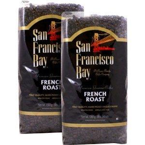 San Francisco Bay French Roast Whole Bean Coffee 3 lb. Bag 2-pack (San Francisco Whole Bean Coffee)