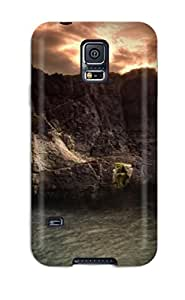 Hot Snap-on Amazing Fall Hard Cover Case/ Protective Case For Galaxy S5