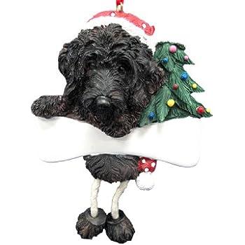 Labradoodle Ornament Black with Unique