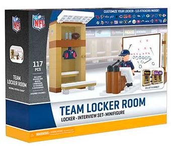 OYO NFL Locker Room Set, Small, Green