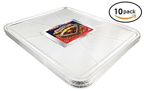 Pactogo Disposable Aluminum Foil Oven Liner 18.5