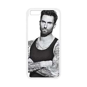 iPhone 6 Plus 5.5 Inch Cell Phone Case White Adam Levine WXQ