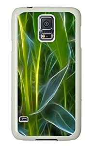 Samsung S5 case protective Sketchy Plant PC White Custom Samsung Galaxy S5 Case Cover