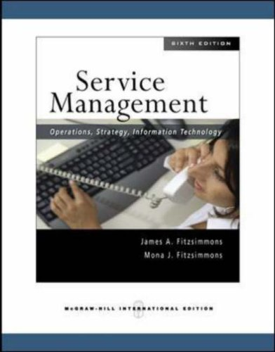 Service Management Operations Strategy Information Technology Pdf