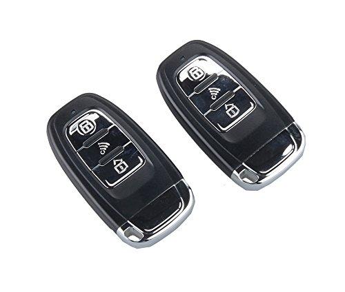 Easyguard Ec003 Smart Key Pke Passive Keyless Entry Car Alarm System Engine Start Button Remote