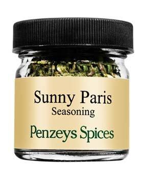 Sunny Paris Seasoning By Penzeys Spices .2 oz 1/4 cup jar