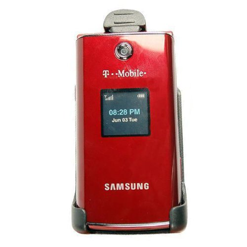 Technocel Holster with Swivel Clip for Samsung T339 - Black