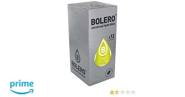 Bolero Bebida Instantánea Sabor Lima - Paquete de 12 x 36 gr - Total: 432 gr: Amazon.es: Salud y cuidado personal