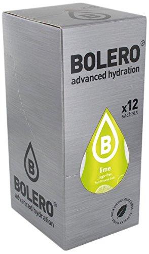 Bolero Bebida Instantánea Sabor Lima - Paquete de 12 x 36 gr - Total: 432