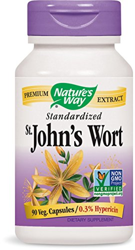 Nature's Way St. John's Wort, 90 Capsules