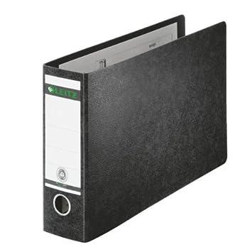 Leitz 10740000 - Archivador 180° A4 color negro: Amazon.es: Oficina y papelería