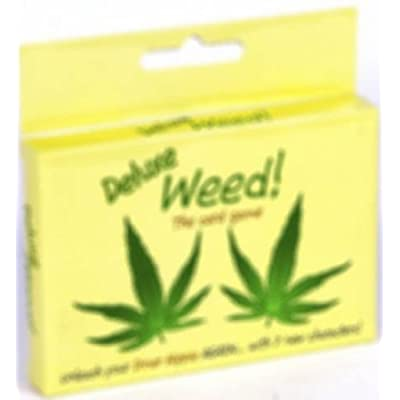 Weed Deluxe Card Game: Toys & Games