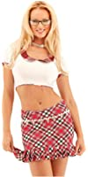 Sexy Argyle School Girl Costume by Forplay
