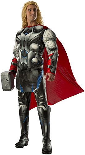 [Rubie's Costume Co Men's Avengers 2 Age Of Ultron Deluxe Adult Thor Costume, Multi, X-Large] (Loki Costume)