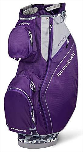 Sun Mountain Golf 2019 Sierra Women Cart Bag - Gray-Camo-Concord ()