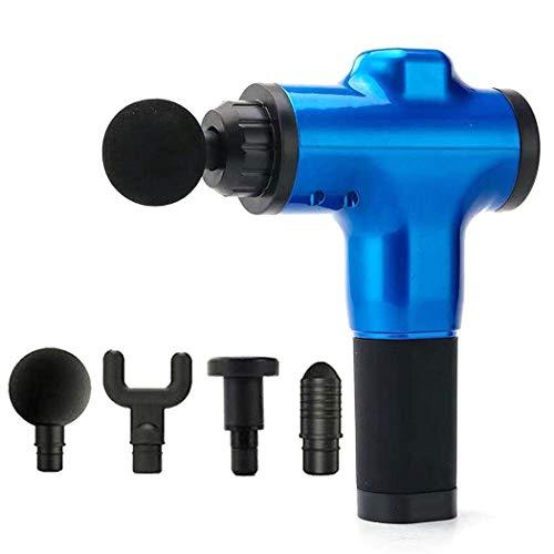 Lanbter Muscle Massage Gun, Hand Held Cordless Rechargeable Muscle Massager Portable Massage Device Electric Massagers