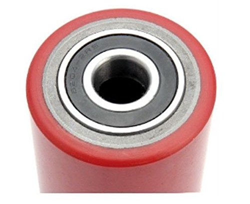 """One Pallet Jack Replacement Load Support Wheel 3-5/8"""" Wide by 3"""" Dia x 20mm ID"""