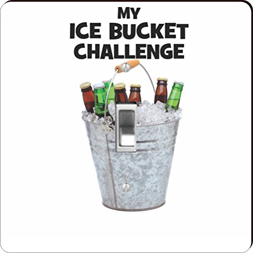 Rikki Knight RK-LSPS-44709 My Beer Bucket Challenge- Ice Bucket Challenge Design Light Switch Plate Cover by Rikki Knight